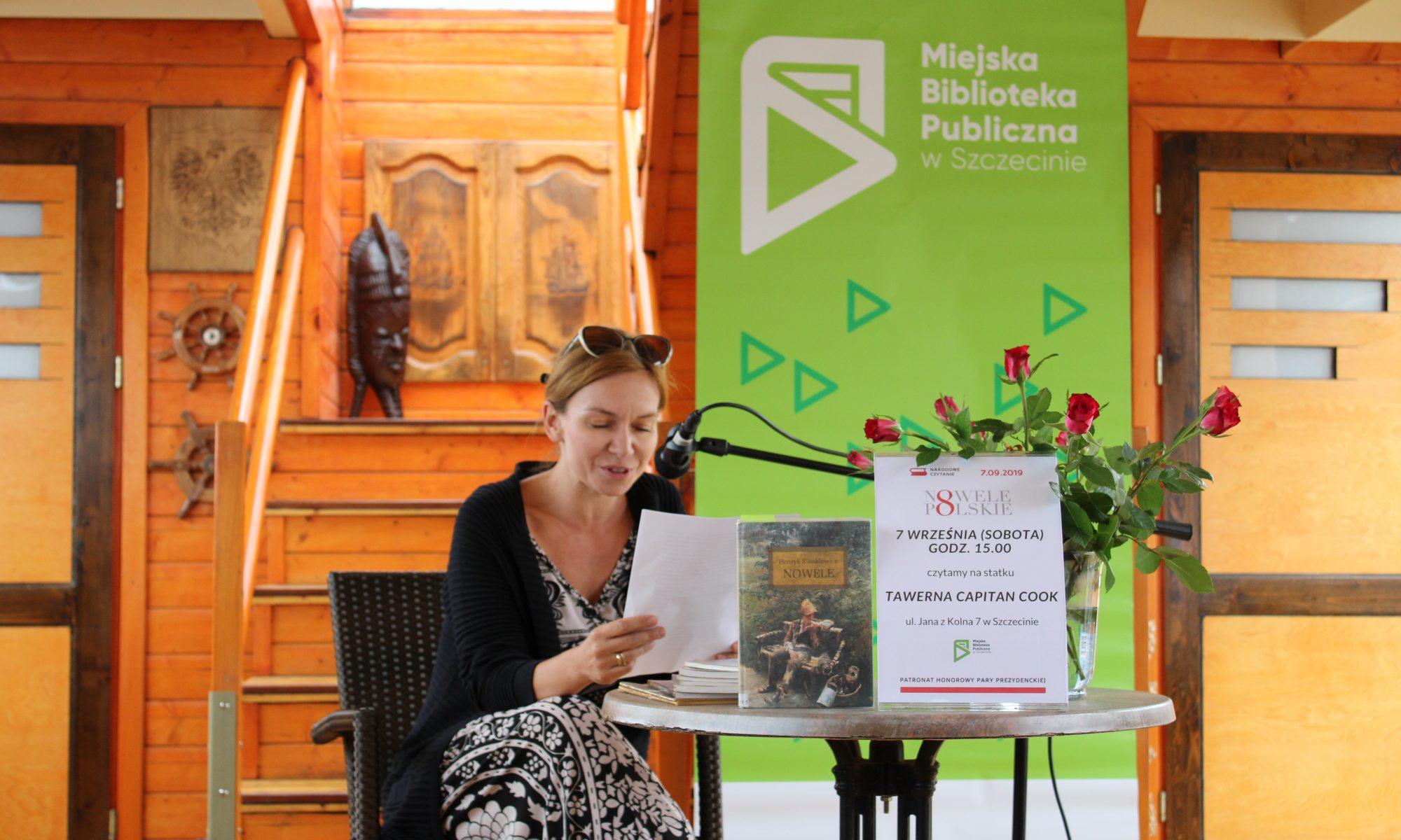 Ewa Sobczak czyta